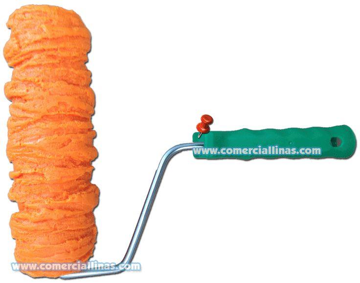 Rodillo textura 9. Moldes para hormigón impreso. La tienda de Comercial Llinás. http://tienda.comerciallinas.com/Hormigon-impreso/Herramientas/Herramientas-reparacion/Rodillos-reparacion
