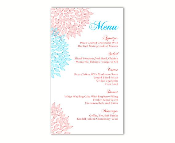 The 25+ Best DIY Menu Cards Template Ideas On Pinterest   Cafe Menu  Template Word  Cafe Menu Template Word