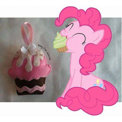 Vanity Fair creazioni: Keep calm and.... cupcake in feltro!