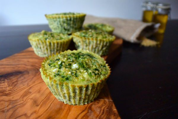 I Love Health | Egg muffins with spinach and cottage cheese recipe | http://www.ilovehealth.nl