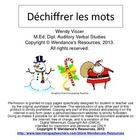 A+great+Christmas+activity+for+beginning+spellers+and+readers+of+the+French+language.++The+images+are+beside+the+scrambled+words+to+help+them+with+...