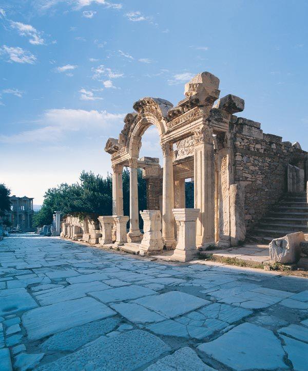 The marble way in Ephesus.