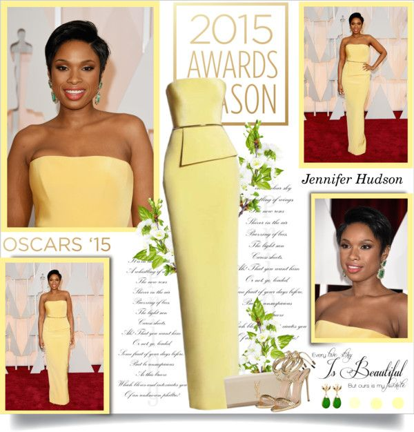 """""""Jennifer Hudson at the 87th Annual Academy Awards!!"""" by lilly-2711 ❤ liked on Polyvore"""