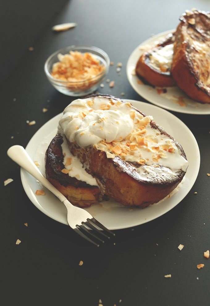 coconut cream pie french toast