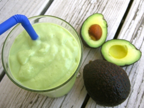 Vietnamese Sweet Avocado Smoothie (and healthier honey and cinnamon variation)