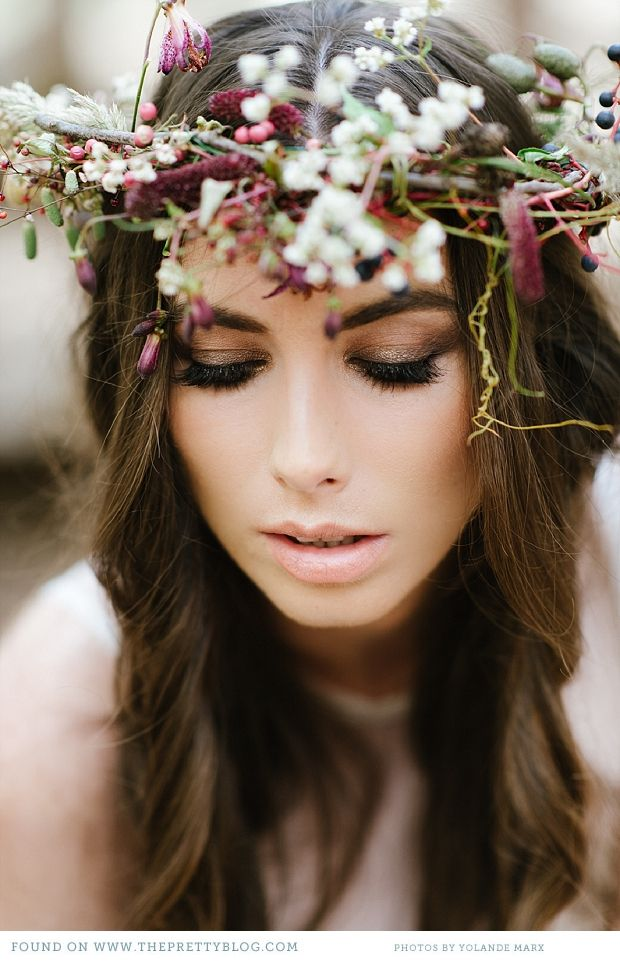 nice make up. The Enchanted Forest {Wedding Inspiration}