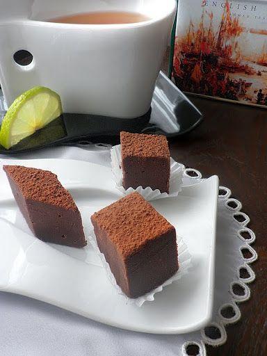 Опитайте ...: Шоколадови трюфели с английски чай