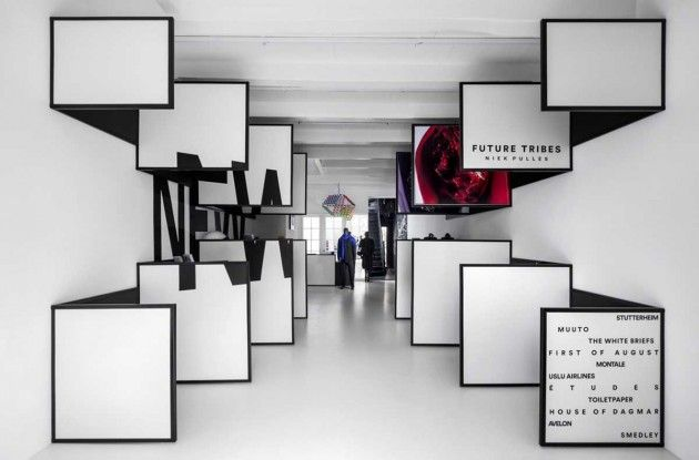 i29 Interior Architects have recently completed a retail store for FRAME Magazine in Amsterdam.