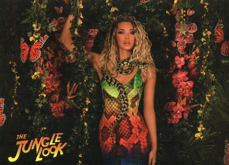 Jungle Look- Snake Front