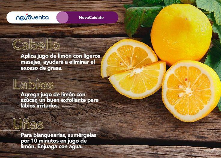 Además de ser ricos en vitamina B, C y fósforos, ¿sabías que los limones también son utilizados para remedios caseros de belleza? Aquí te mostramos algunos.