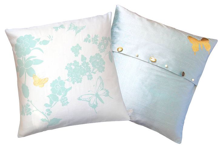 flower cushion square by laura felicity   notonthehighstreet.com