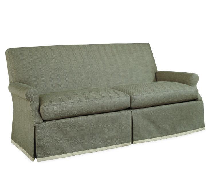 Lee Industries Apartment Sofa In Arthur Metal