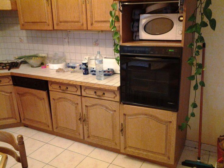R nover une cuisine comment repeindre une cuisine en ch ne - Comment peindre une cuisine en bois ...