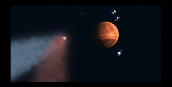 #NASA: Cometa causa lluvia de meteoritos en Marte