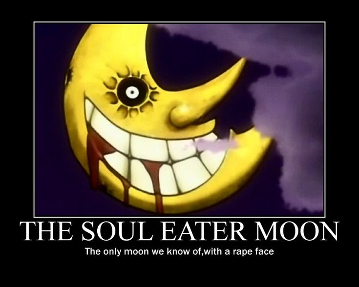 Soul Eater Moon Poster by Winged--Maned--Wolf.deviantart.com on @deviantART