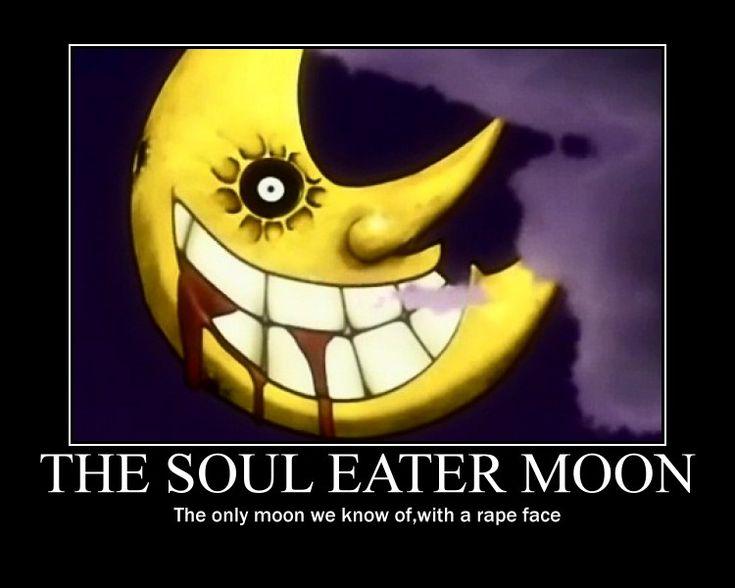 Soul Eater Moon Poster by Winged--Maned--Wolf.deviantart.com on @deviantART