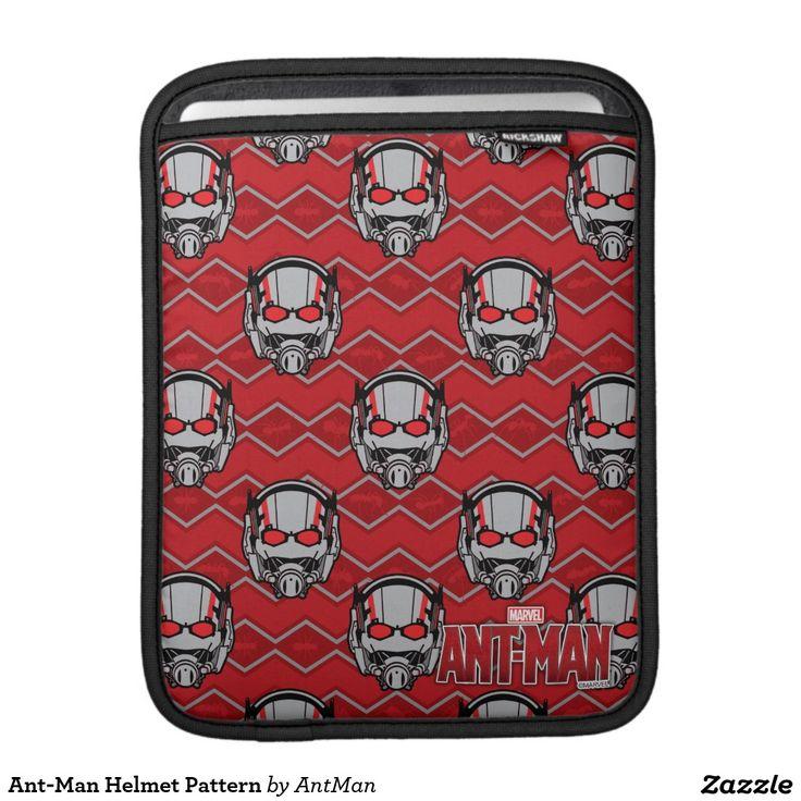 Ant-Man Helmet Pattern iPad Sleeves. Regalos, Gifts. #fundas #sleeves
