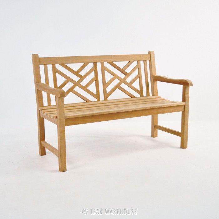 teak warehouse elizabeth teak garden bench 2 seat
