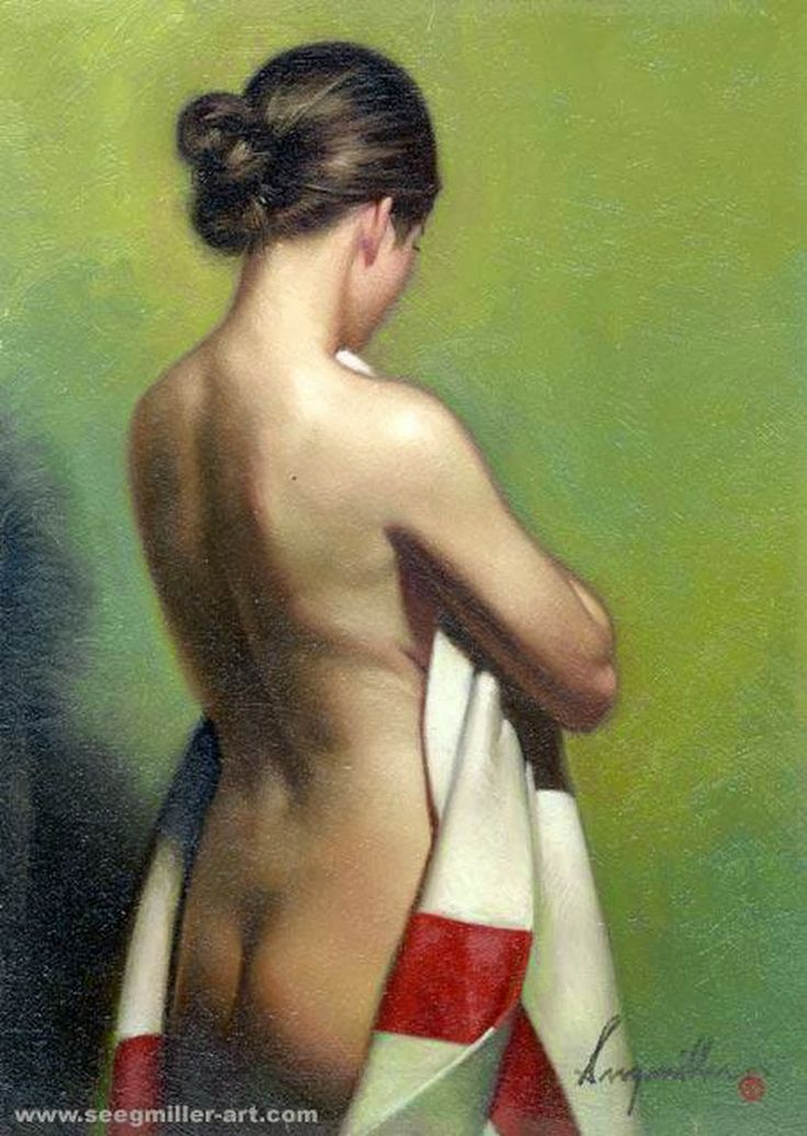 D.W.C.Young Woman - Painter Don Seegmiller | DANCES WITH COLORS
