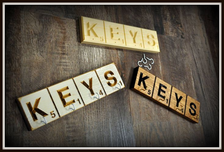 Excited to share the latest addition to my #etsy shop: Scrabble Key Hanger, Key holder for wall, Custom Key Holder,Wall Key Holder, Key Hanger for wall, Custom Scrabble Key holder, ACAwoodcrafts http://etsy.me/2nMQlia #housewares #homedecor #scrabblekeyhanger #scrabble