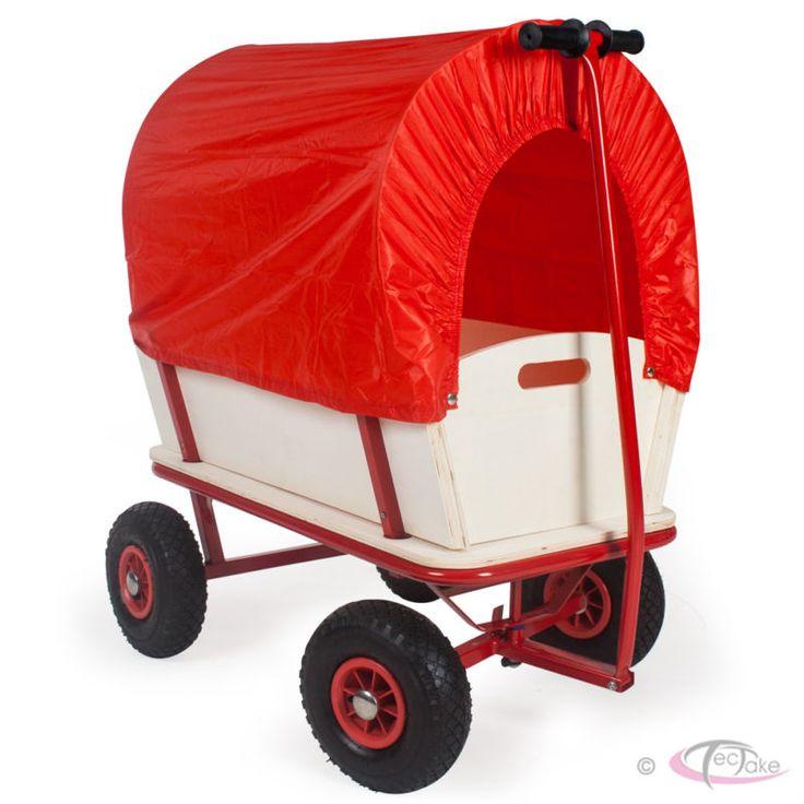 Chariot pour enfant chariot de transport en bois avec bâche | eBay