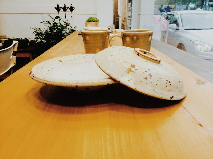Ceramic plate 도자기 접시