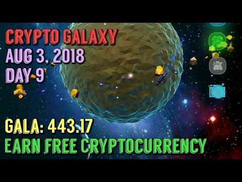 Crypto Galaxy Game Day 9 Earn free GALA Cryptocurrency