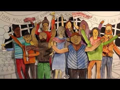 Kvinnodagen 8 Mars 2014 - Claystation - YouTube