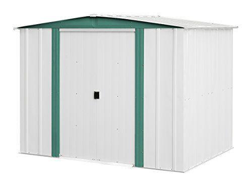 Arrow Sheds HM86 Hamlet Steel Storage Shed, 8 by 6-Feet