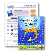 Preventing Bullying Lesson Plan for primary grades   Giraffes Can't Dance