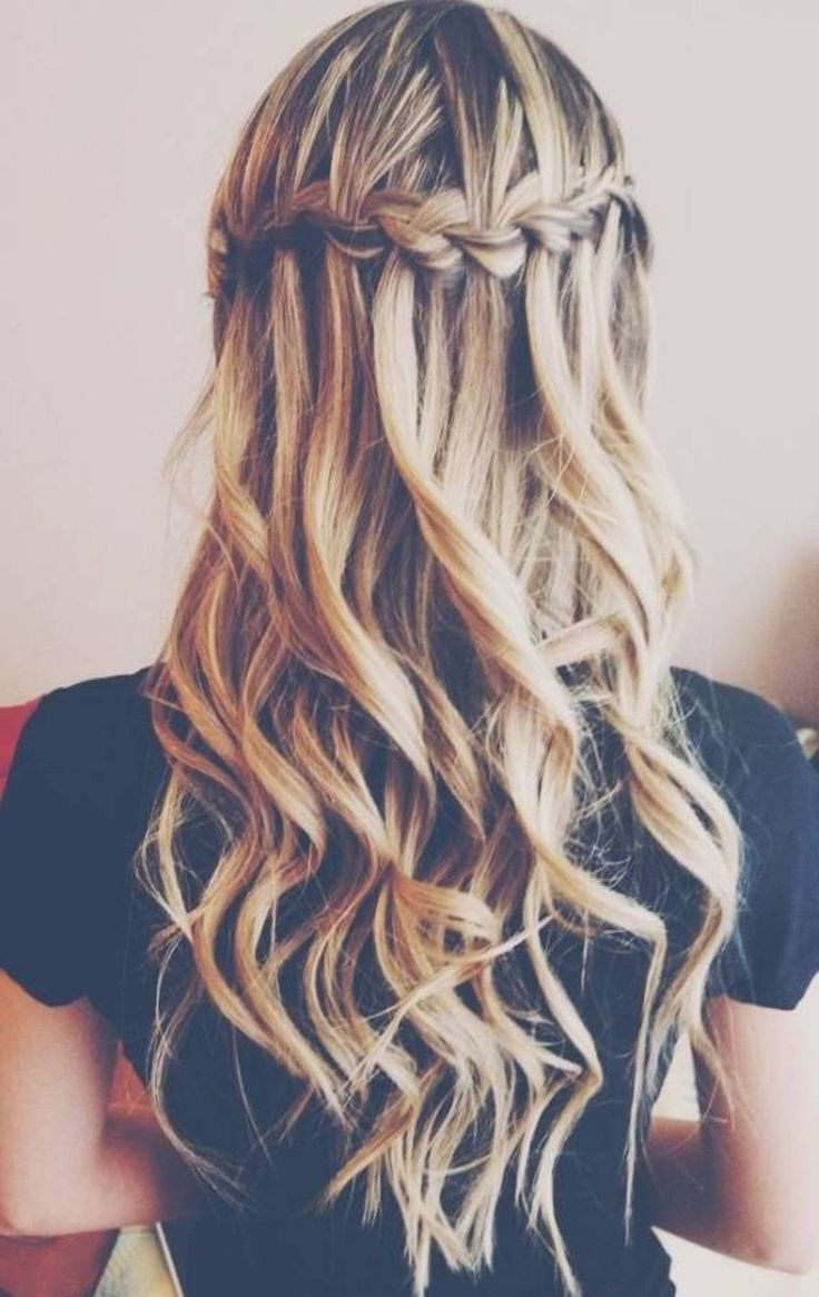 how-to-make-cute-hairstyles-waterfall-braid