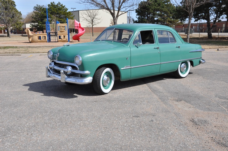 23 best 1951 ford images on pinterest vintage cars for 1951 ford 4 door sedan