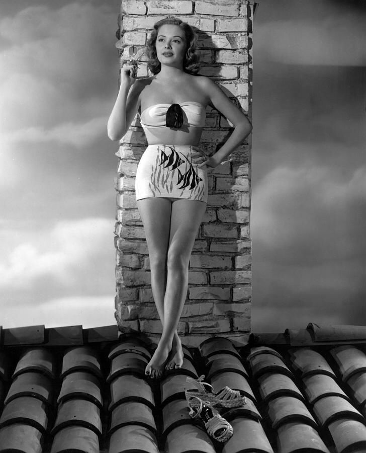 Jane Greer for Catalina Swimwear (1948)