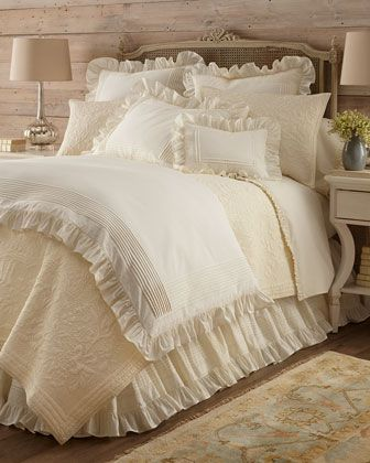 Louisa+Bedding+by+Pine+Cone+Hill+at+Neiman+Marcus.