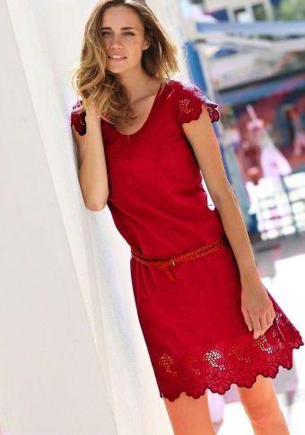 Šaty s výšivkou #ModinoCZ #forfreetime #comfortable #stylish #fashion #trendy #clothing #obleceni #moda #volnycas #stylove