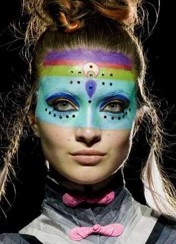 Hallucinogenic Make-Up