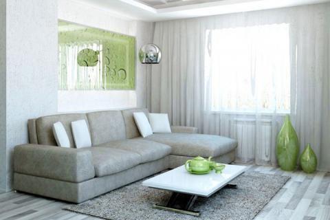 Серый и зеленый