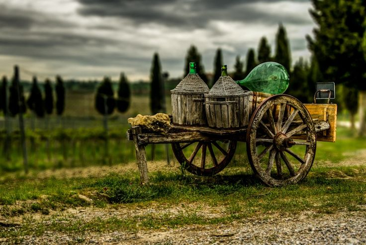 I found this amazing old waggon on a photo-tour in tuscany this spring!