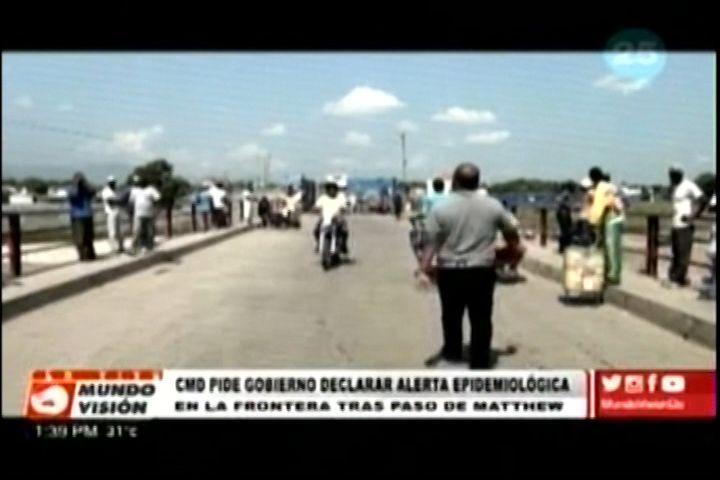 Urgente!….El CMD pide al estado Dominicano declarar alerta en las zonas fronterizas por brotes de enfermedades