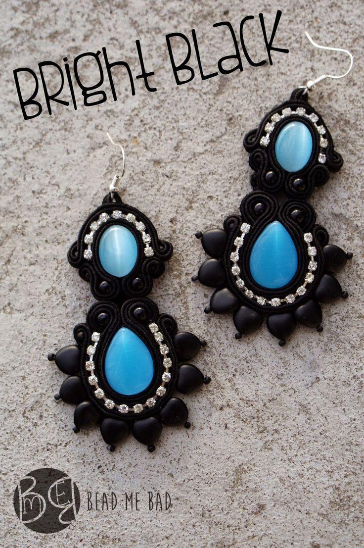 black beauty :D  #my #soutache #earrings