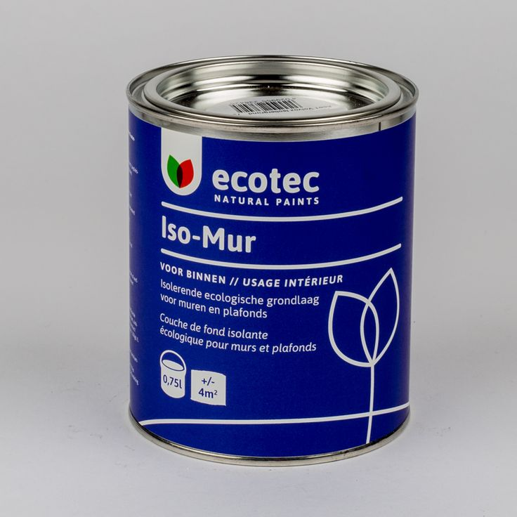 Ecotec Iso Mur, tegen roet- & watervlekken (wit)