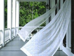 Sheer, gauzy curtains <3: Sheer Curtains, Beaches House, Southern Style, White Curtains, Porches Curtains, Living Rooms Window, Simple Pleasures, The Simple Life, Summer Breeze