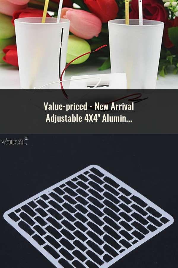 New Arrival Adjustable 4X4'' Aluminum Oxide Laboratory Lab