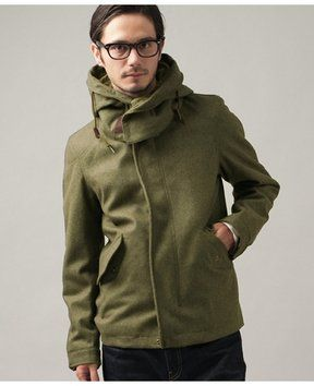 Short mods coat for men / ShopStyle(ショップスタイル): [UNITED ARROWS green label relaxing]*★★LT/MLTN ショートモッズコート - shopstyle.co.jp