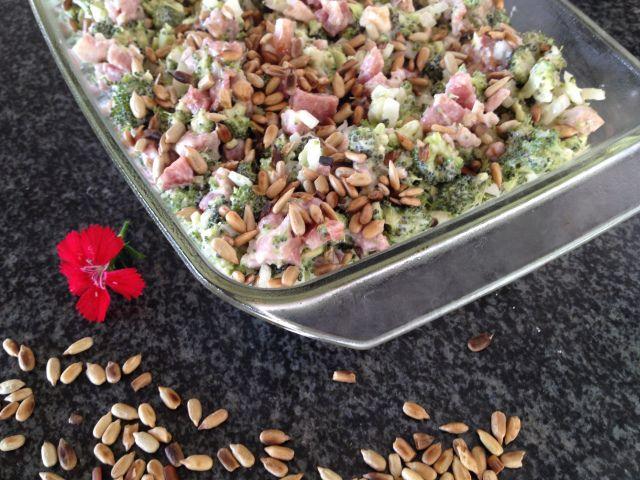 Brocolli Salad with Baco