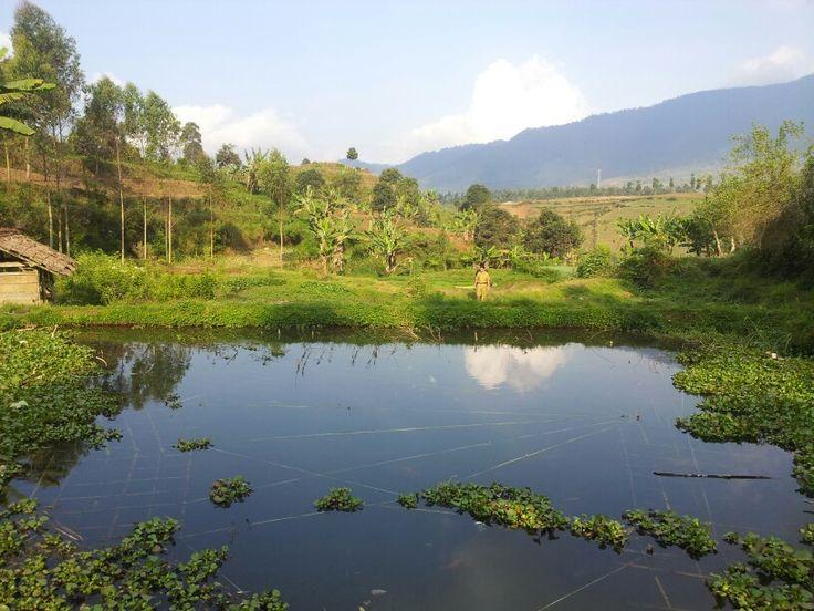 Situ Ciburial Kertasari Bandung