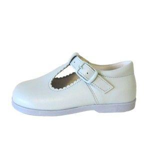 Zapatos niño tipo pepito piel napa Andanines varios colores