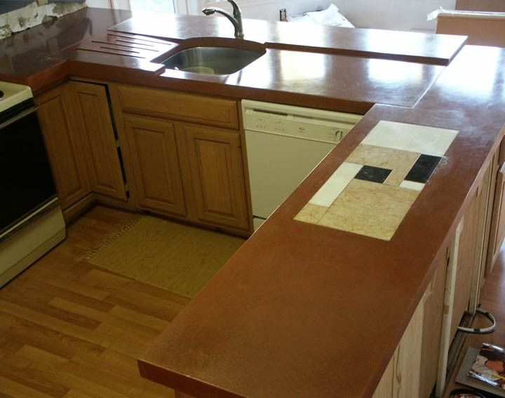 Diy Kitchen Island With Sink 77 best concrete countertops (kitchen), islands, and bar images on