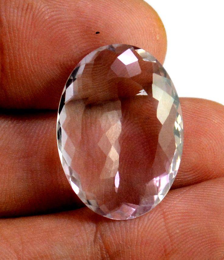 18ct VS Big Rare Natural Light Purple Amethyst Quartz Faceted Loose Gemstone #krishnagemsnjewels