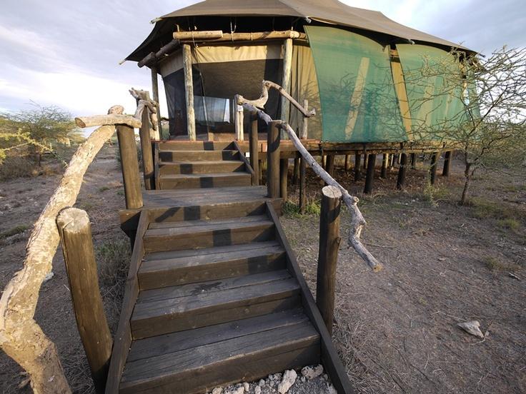 Masek lodge tent, Lake Masek, Ndutu, Tanzania  Photo Guy Cotter